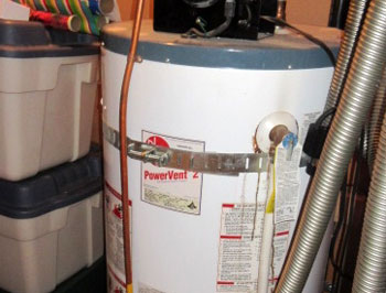 Water heater leakage